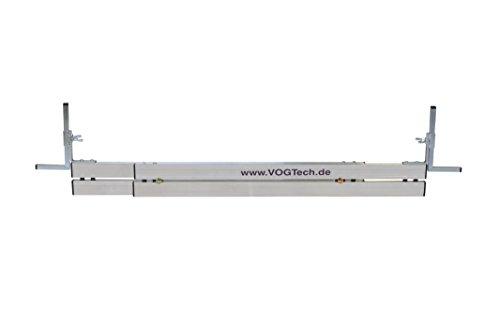 Vogtech verstellbare Abziehschienen H3 95-150cm