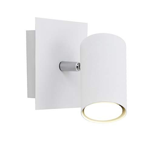 Trio Leuchten Spot in Metall weiß, Wandspot...