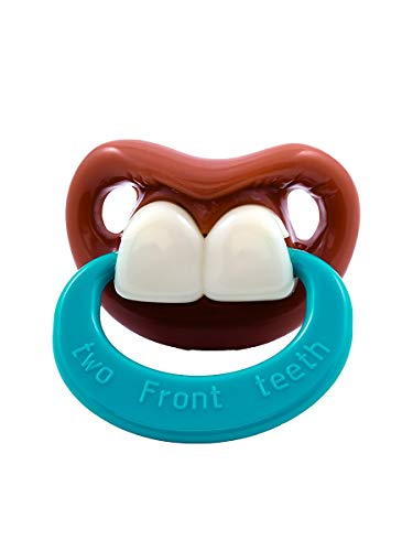 Billy Bob Pacifiers Two Front Teeth with Ring -...