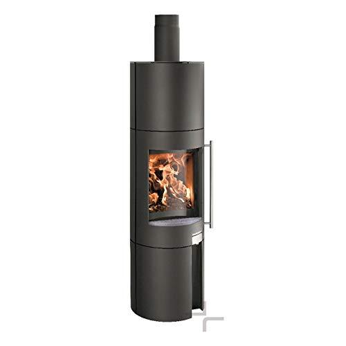 Haas+Sohn Kaminofen Ficus-III perl-schwarz 5 KW
