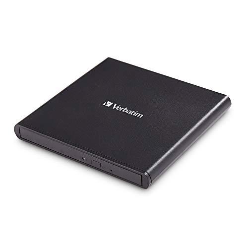 Verbatim Externer Slimline CD/DVD-Brenner, mobiles...