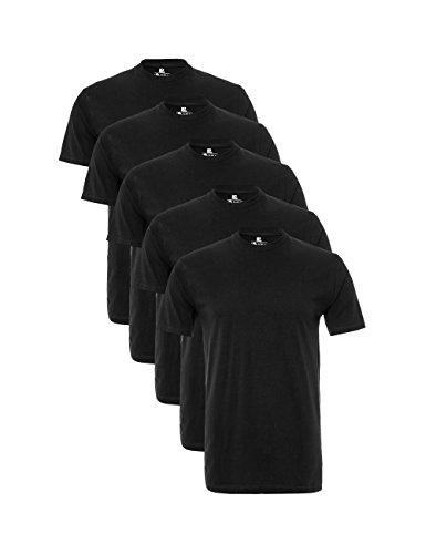 Lower East Herren T-Shirt mit Rundhalsausschnitt,...