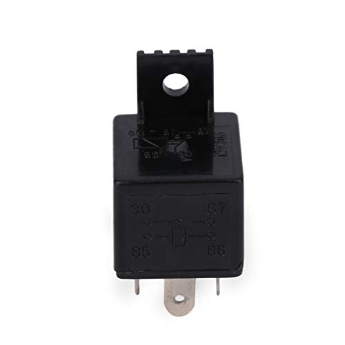 GreceMonday Auto Relay Universal-4 Pin DC 12V 30A...