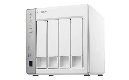QNAP TS-431P Desktop NAS Gehäuse mit 1 GB DDR3...