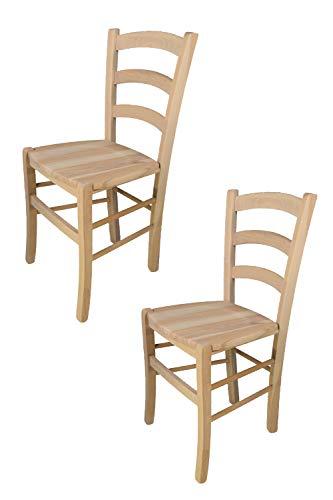 Tommychairs - 2er Set Stühle Venezia für Küche...