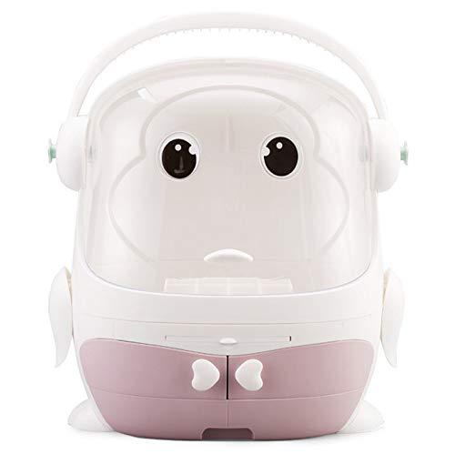 PQZATX Kosmetikbox Transparent Makeup Case...