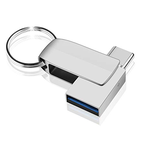 USB Stick 64GB, NINECY 2-in-1 USB C Stick (USB...