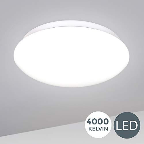 B.K.Licht I 12W LED Deckenlampe I 4.000K...