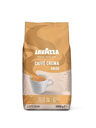 Lavazza Kaffeebohnen - Caffè Crema Dolce - 1er...
