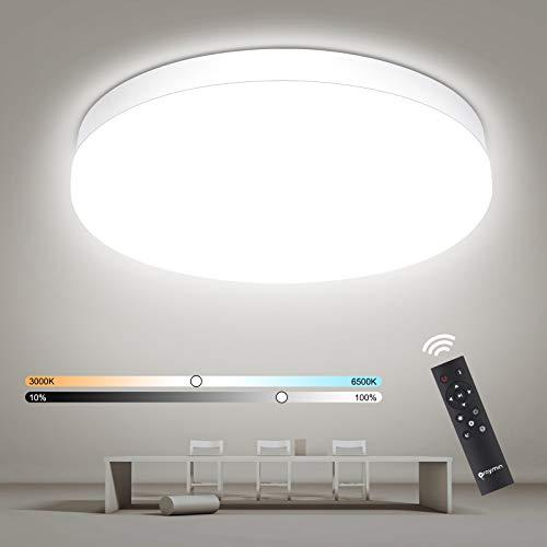 Oraymin LED Deckenleuchte Dimmbar, 18W 1800LM LED...
