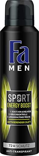 Fa Men Sport Energy Boost Deospray, 6er Pack (6 x...