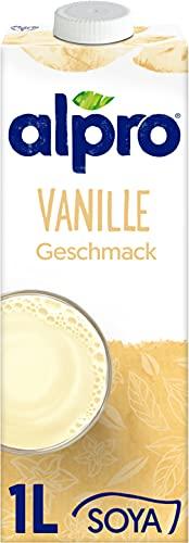 Alpro Sojadrink Vanille Pflanzlicher Drink Vegan...