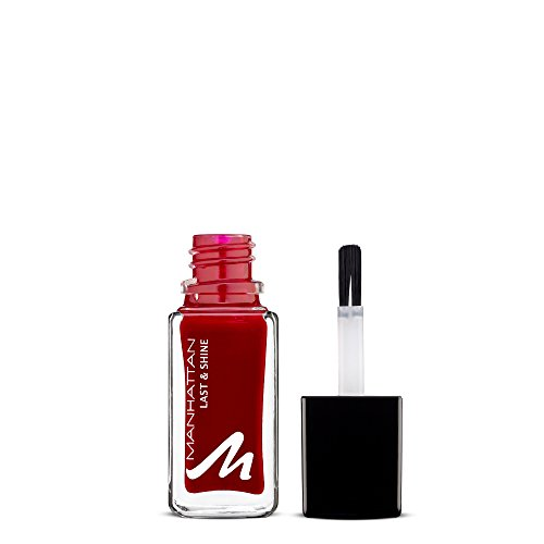 Manhattan Last & Shine Nagellack – Warmroter,...