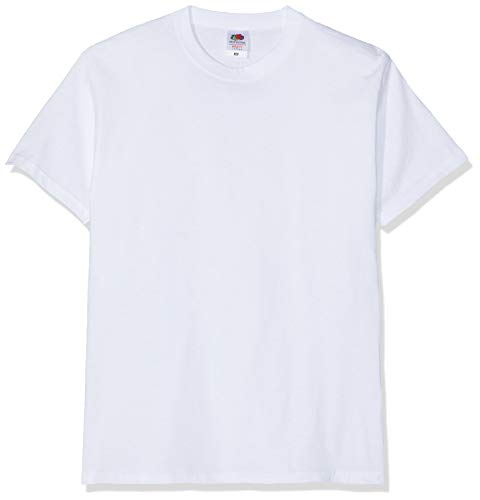 Fruit of the Loom Valueweight T-Shirt Weiss S