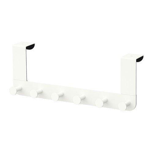 IKEA Enudden Aufhänger für Tür, Metall, weiß...