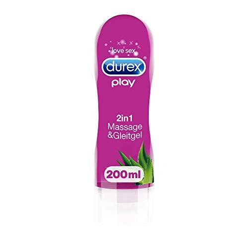 Durex Gleitgel Play 2-in-1 Massage Aloe Vera –...