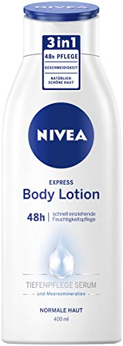 NIVEA Express Body Lotion (400 ml), extra schnell...