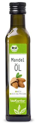Bio Mandelöl - nativ, kaltgepresst, 100% natur -...