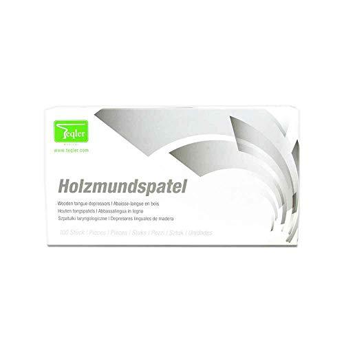 Teqler T-425100 Holzmundspatel (100-er Pack)