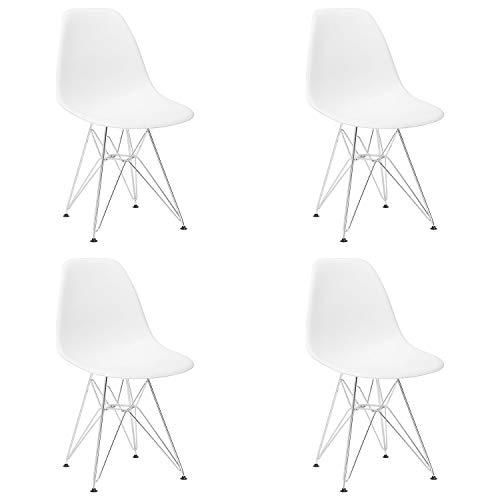 EDLMH 4er Set Modern Design Esszimmerstuhl mit...