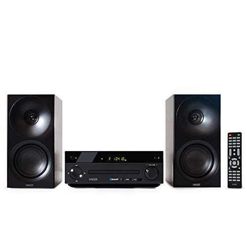 HAISER HSR 118   40 Watt RMS mit CD Player...