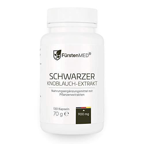 FürstenMED Fermentierter Schwarzer Knoblauch...
