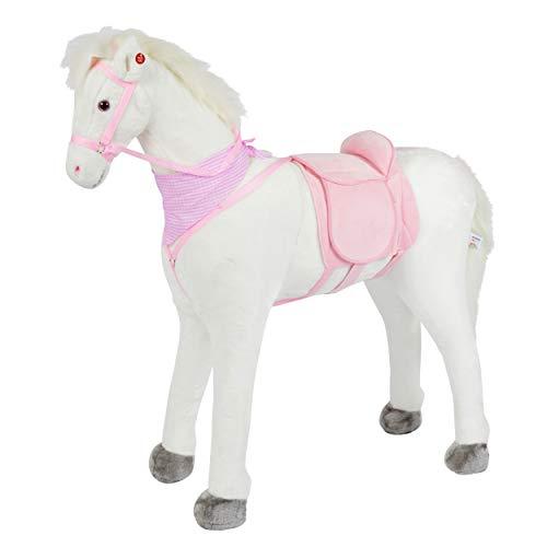 Pink Papaya Plüschpferd XXL 105cm Pferd, Luna,...