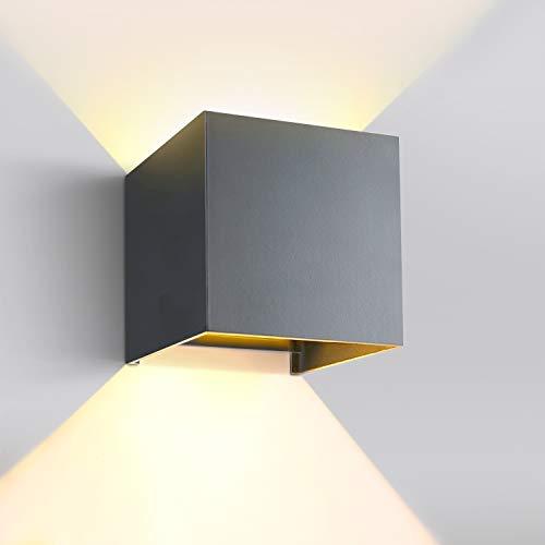 GHB 12W LED Wandleuchte Aussen Innen Wandlampe...