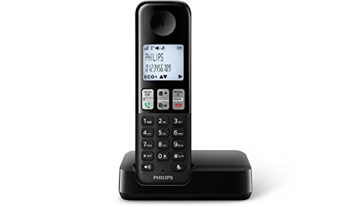 Philips D2301B/38 schnurloses Telefon (4,6 cm (1,8...