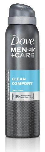 Dove Men+Care Clean Comfort Deospray, 6er-Pack (6...