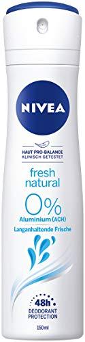 NIVEA Deo Spray Fresh Natural (150ml), Deo ohne...