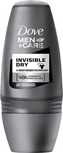 Dove Men+Care Invisible Dry Deo Roll-On, 3er Pack...