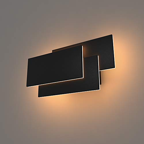 K-BRIGHT Wandlampe,24W LED Wandleuchten,Aluminium...
