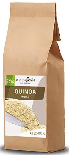 Mr. Brown BIO Quinoa weiß 2,5 KG   BIO Quinoa...