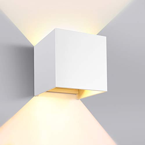 GHB 7W LED Wandleuchte Wandlampe mit einstellbar...