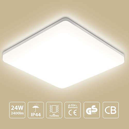 Oeegoo 24W LED Deckenleuchte, 2400lm...