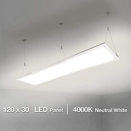 LE 120x30cm LED Panelleuchten Deckenleuchte...
