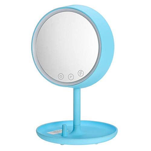 WBFN Make-up-Spiegel, 4 in 1 Smart LED-Touchs...