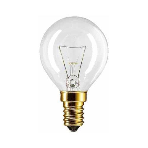 2 X Backofenlampe P45X78 40 Watt E14 klar -...