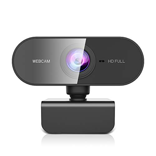 NIYPS Webcam mit Mikrofon, Full HD 1080P Streaming...