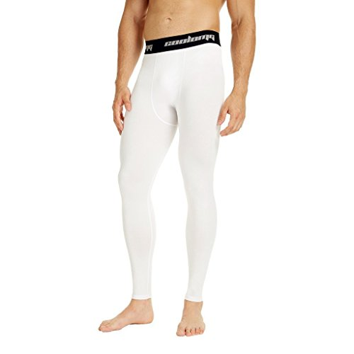 COOLOMG Herren Jugend Kompression Tights Laufhose...