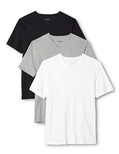 BOSS Herren VN 3P CO T-Shirts, Mehrfarbig...