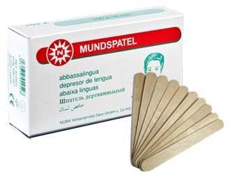 Mundspatel Holz Holzmundspatel 15cm unsteril 1000...