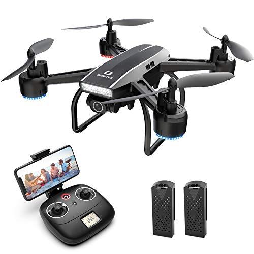 DEERC D50 FPV Drohne mit 2K Kamera HD 120° FOV...