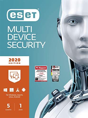 ESET Multi-Device Security 2020   5 Geräte   1...