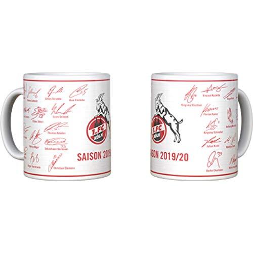 1. FC Köln Kaffeebecher/Tasse ** Unterschriften...