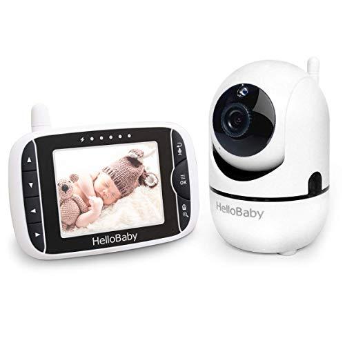 HelloBaby Babyphone mit Kamera Ferngesteuerter...