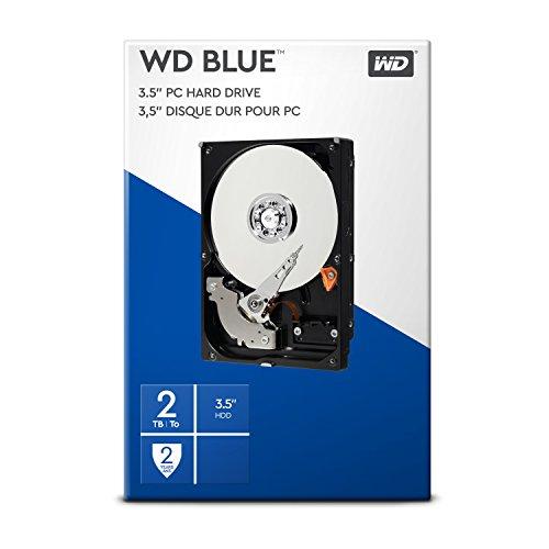 WD Blue 2TB 3.5 Zoll Interne Festplatte - 5400 RPM...