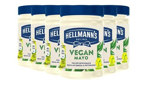 Hellmann's Vegan Mayonnaise Glas (frei von Gluten...