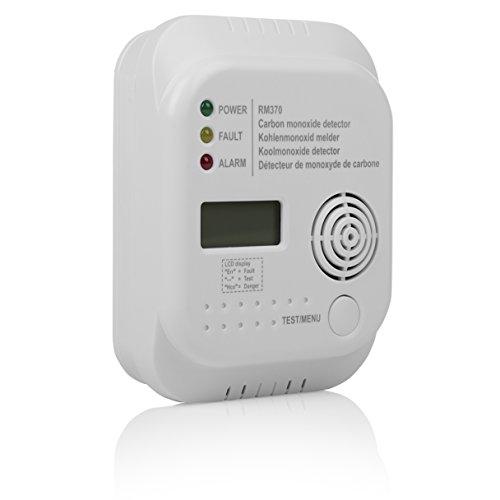 Smartwares RM370 Kohlenmonoxid CO Melder mit...